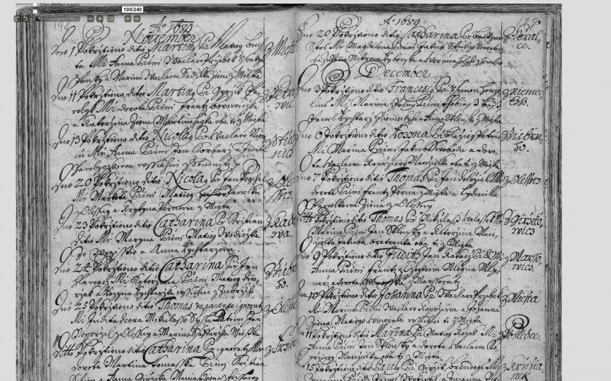 Genealogie II – čtení starých textů – druhý kurz