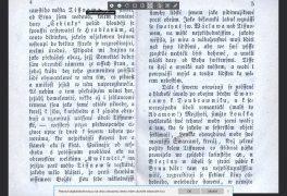 Genealogie II – čtení starý textů – třetí kurz