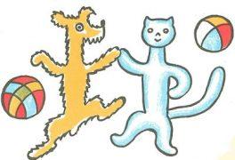 """Výtvarná soutěž """"Povídání o pejskovi a kočičce"""""""