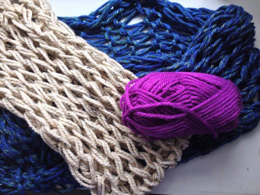Pletení na rukách
