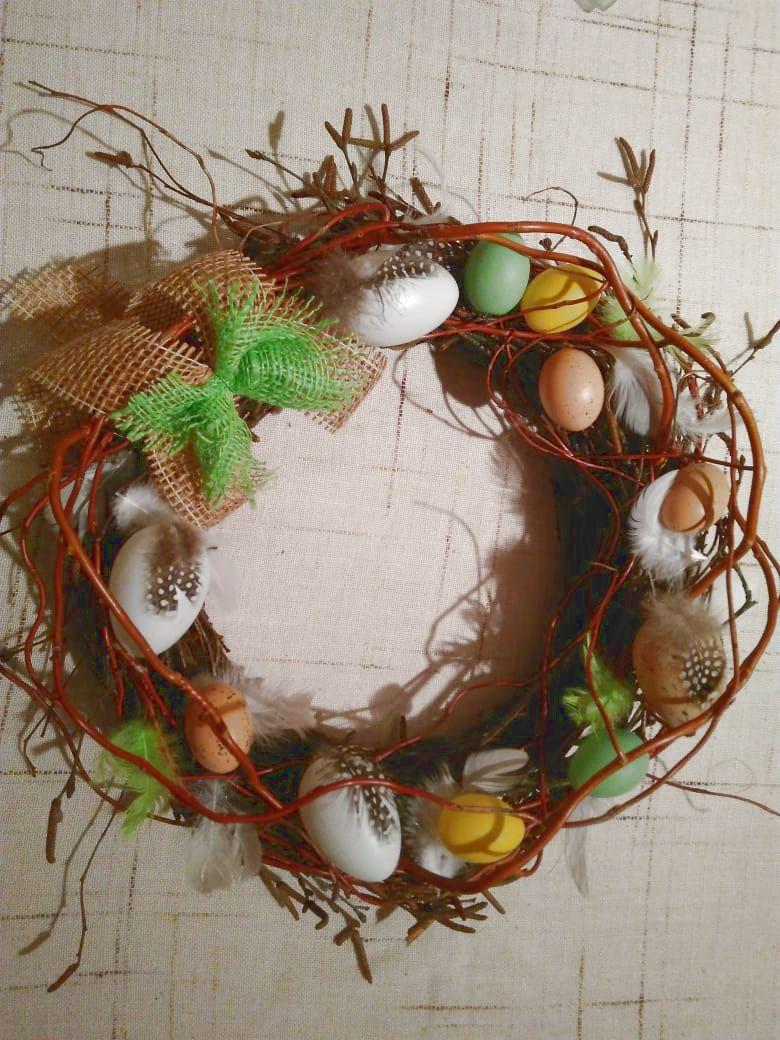 Přírodní jarní věnce – tvůrčí dílna