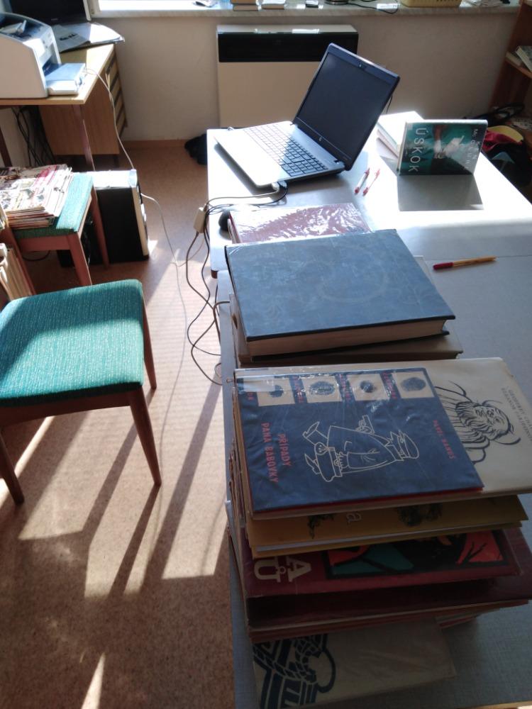 Revize na pobočkách Městské knihovny
